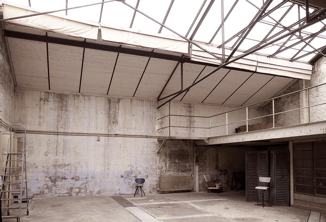 l'atelier côté ouest