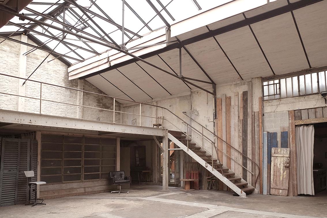 l'atelier côté nord-est