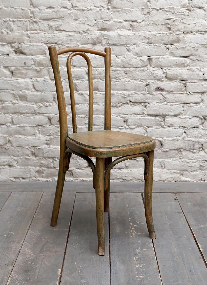 Chaise bistrot bois clair