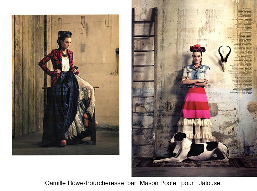 Camille Rowe-Pourcheresse pour Jalouse