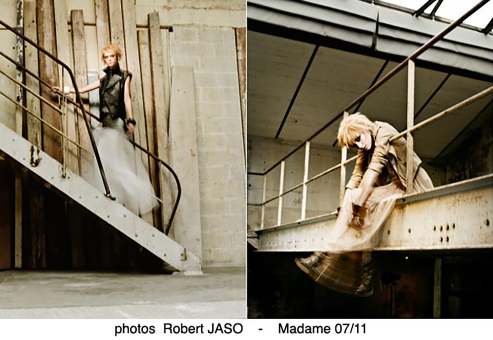 Robert Jaso pour Madame