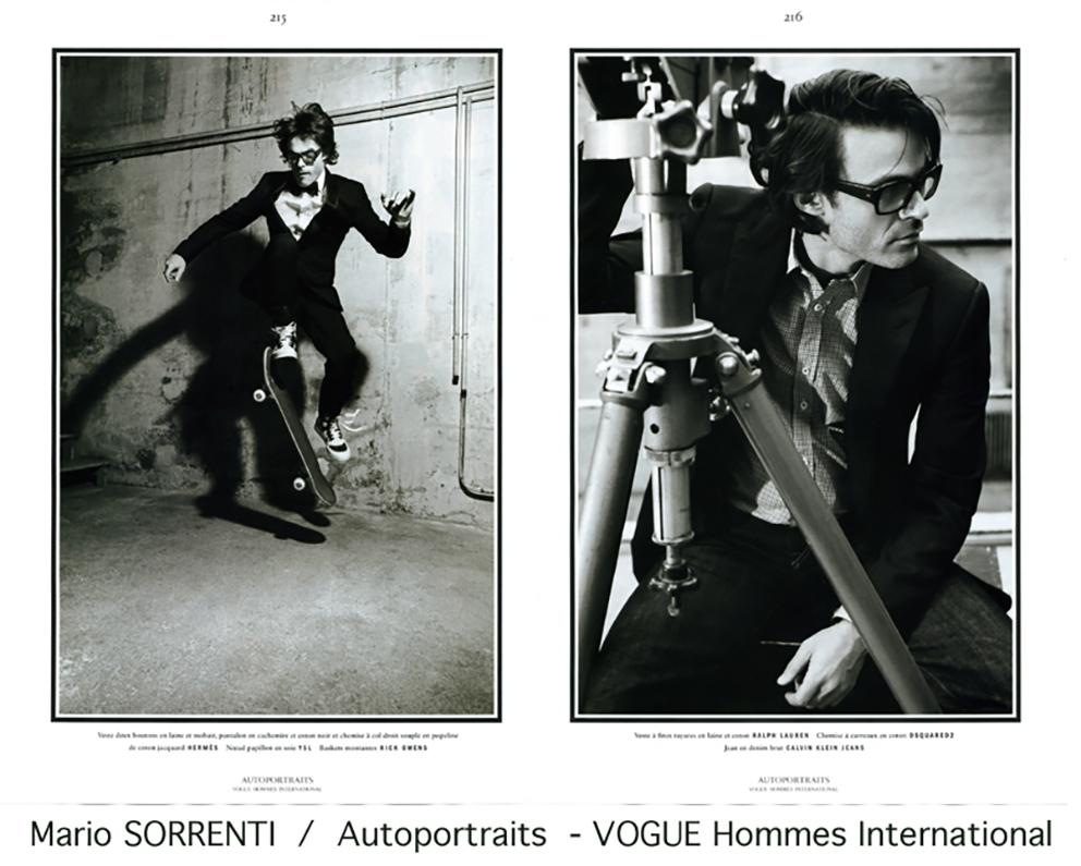 Mario Sorrenti pour Vogue Homme