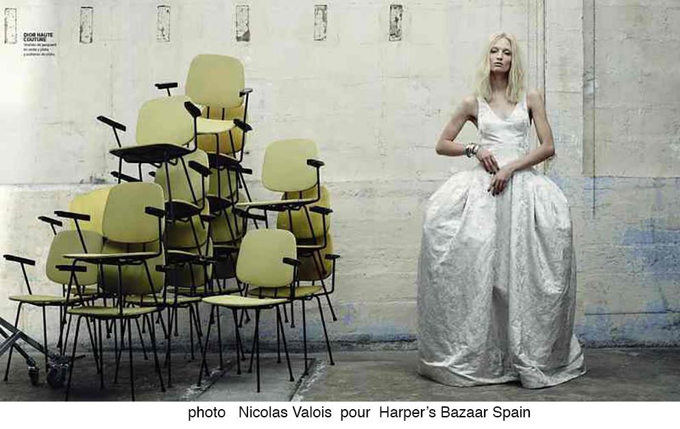 Nicolas Valois pour Harper's Bazaar Spain