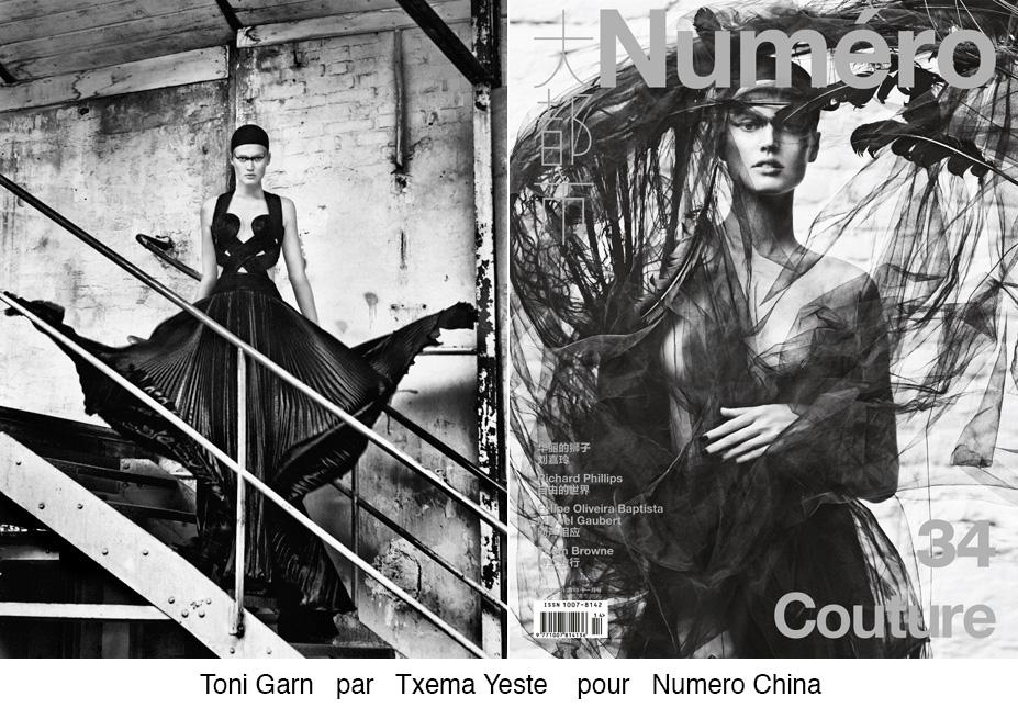 Toni Garn pour Numéro China
