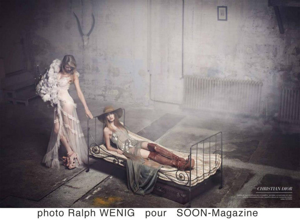 Ralph Weing pour SOON Magazine