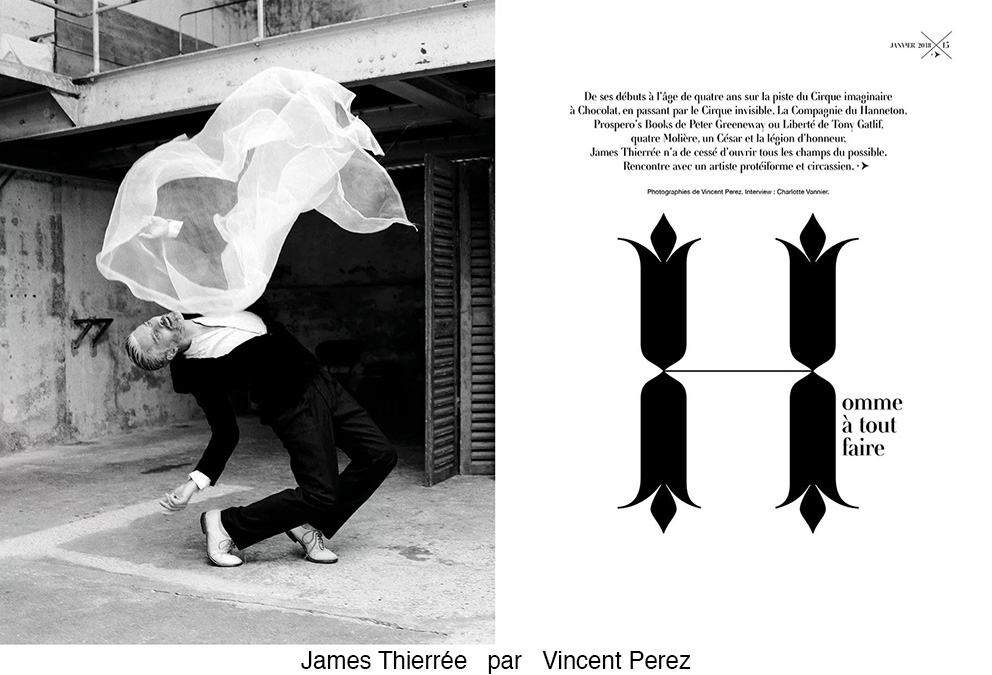 James Thierrée par Vincent Perez
