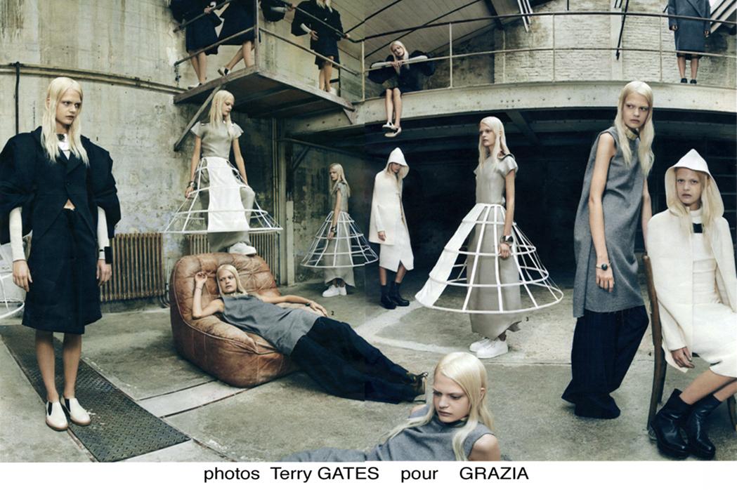 Terry Gates pour Grazia
