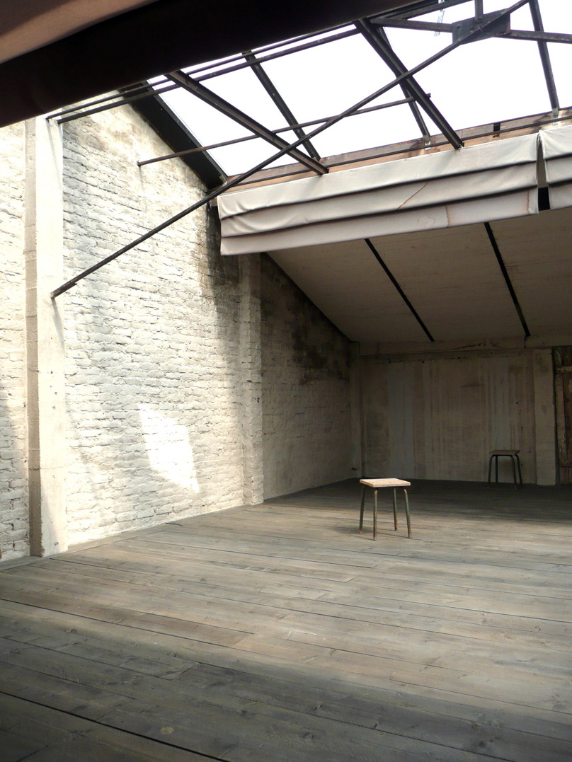 Mezzanine vue centre arrière