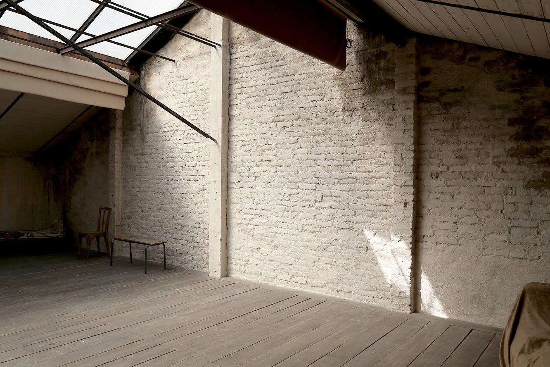 Mezzanine mur nord 2