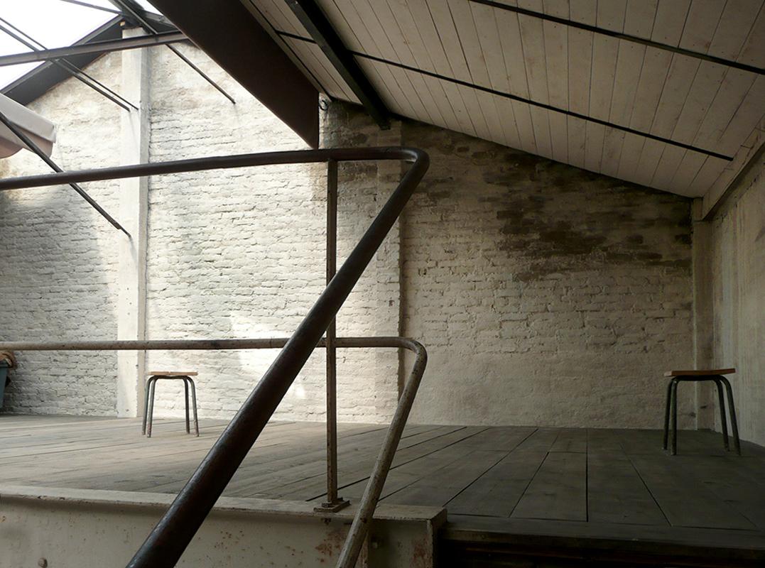 mezzanine escalier vue nord