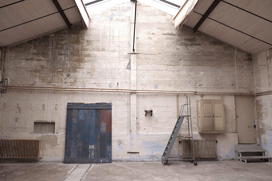 l'atelier côté sud