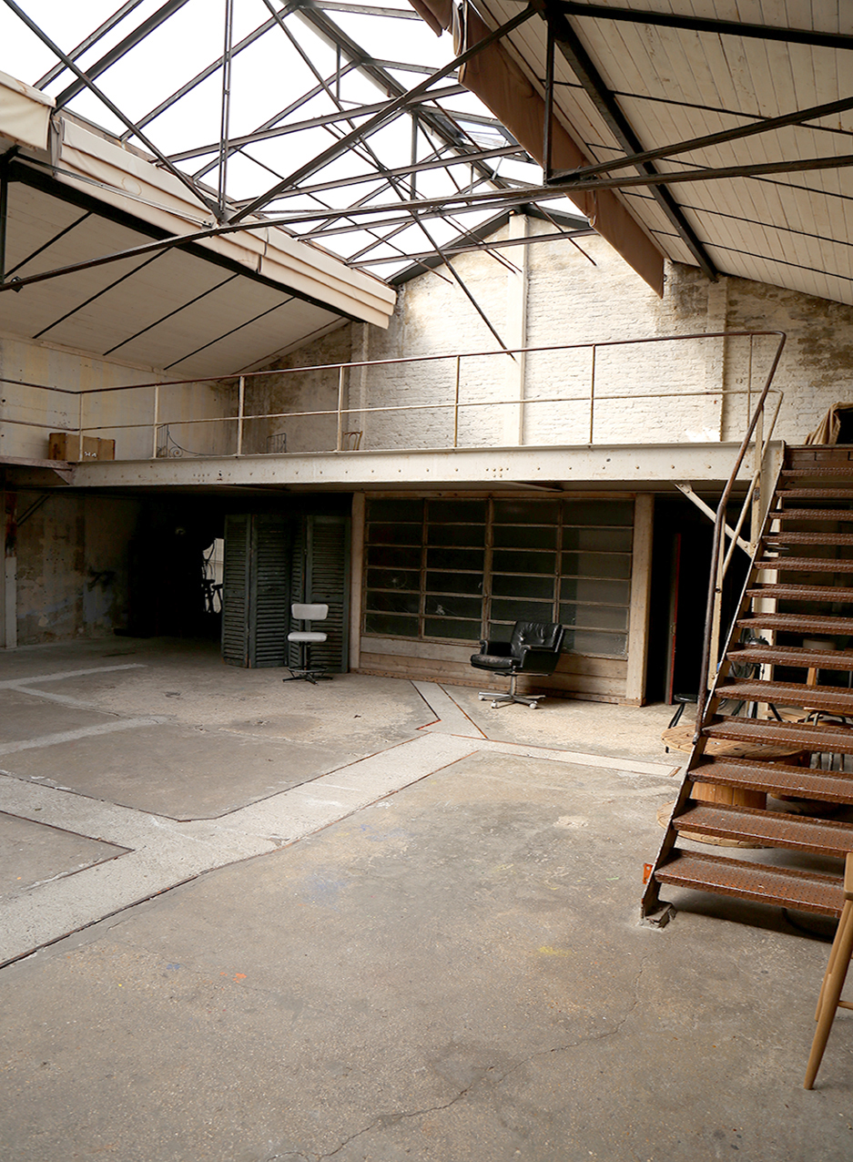 Atelier côté mezzanine
