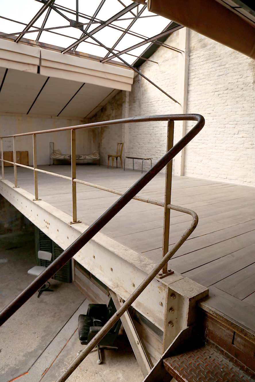 Mezzanine escalier