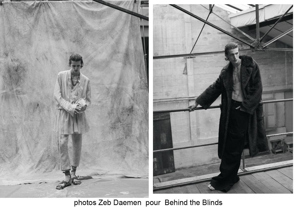 Zeb Daemen pour Behind The Blinds