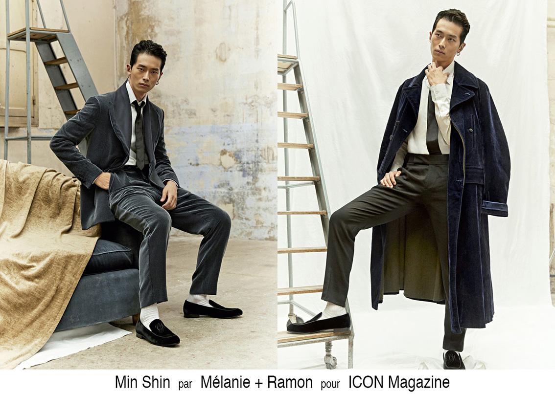 Mélanie + Ramon pour ICON Magazine