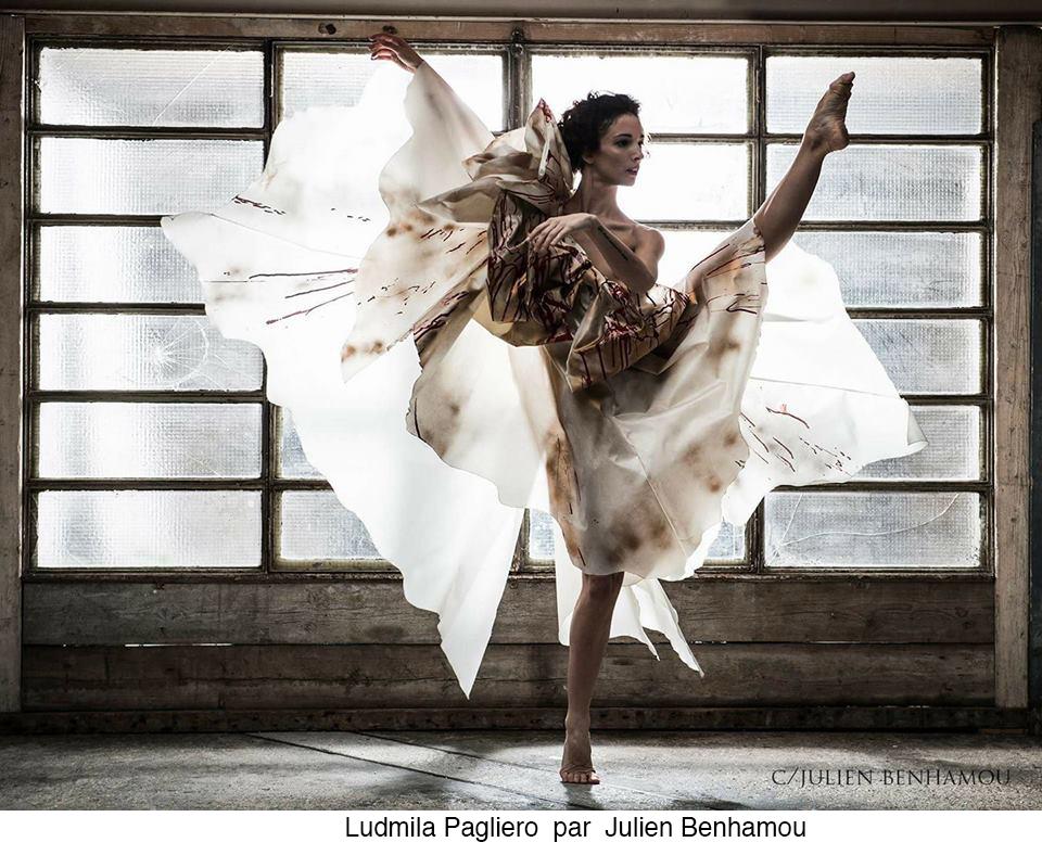 Ludmila Pagliero par Julien Benhamou