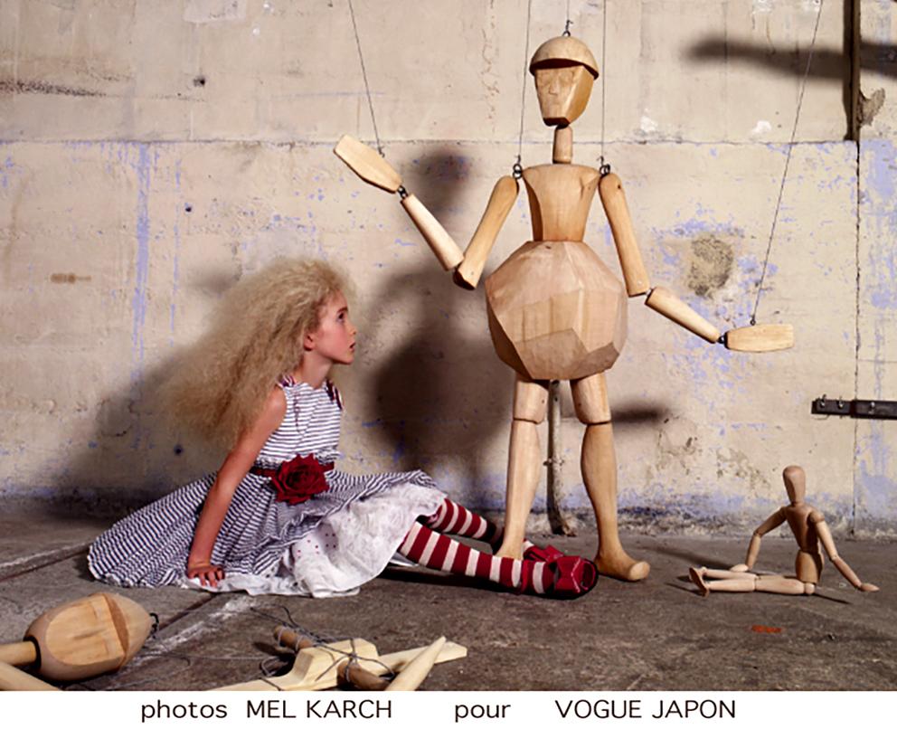 Mel Karch pour Vogue Japon
