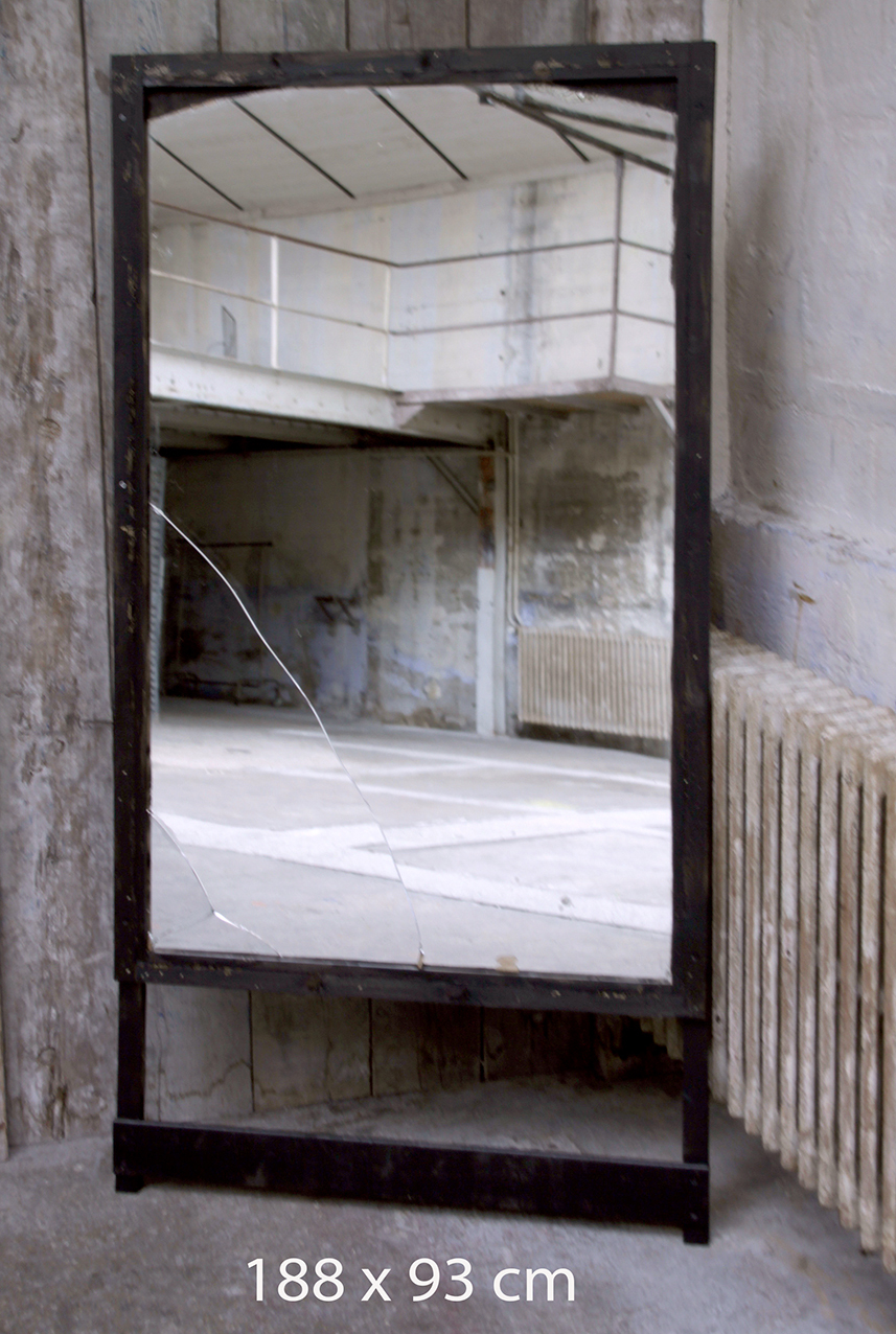Miroir encadrement noir