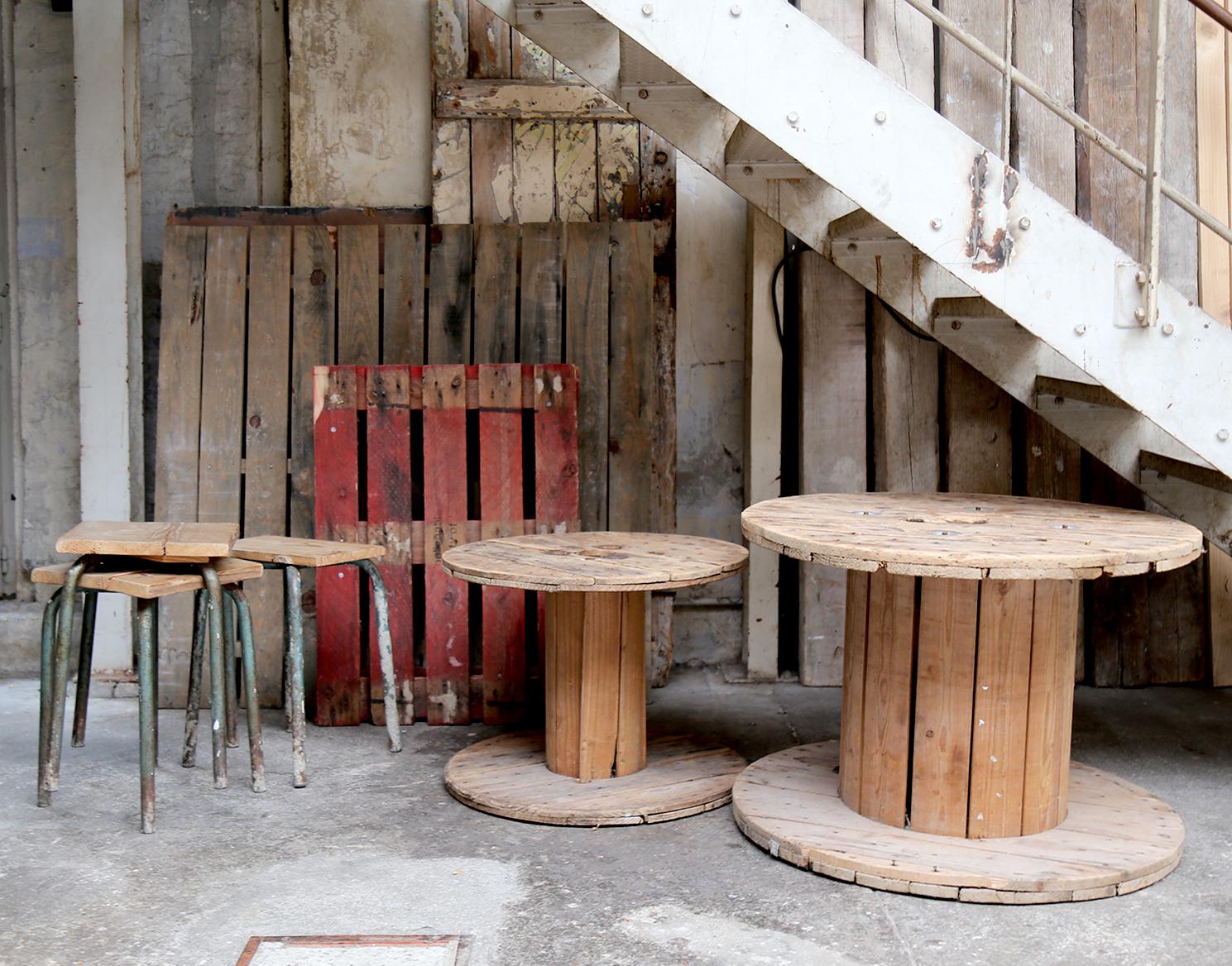 Diverses Palettes bobines en bois