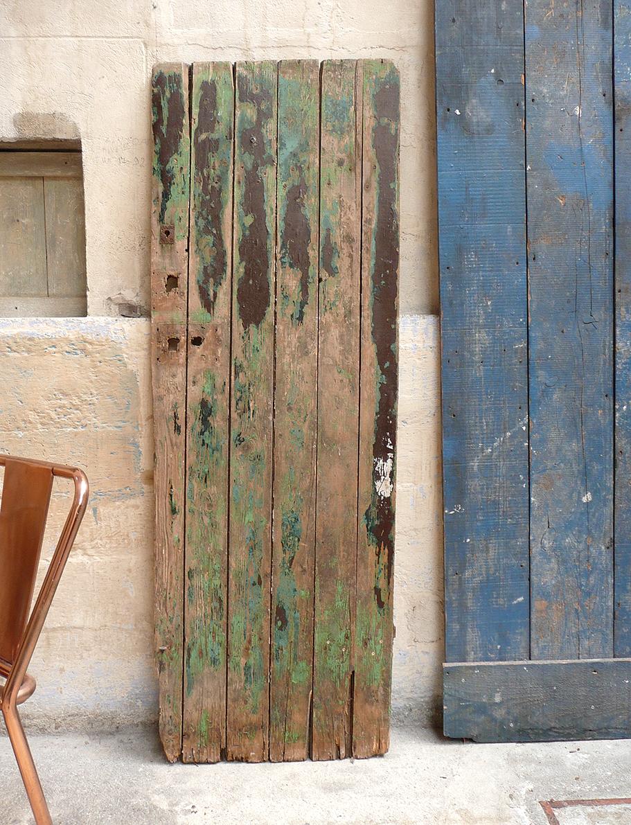 Vieilles palissade et porte