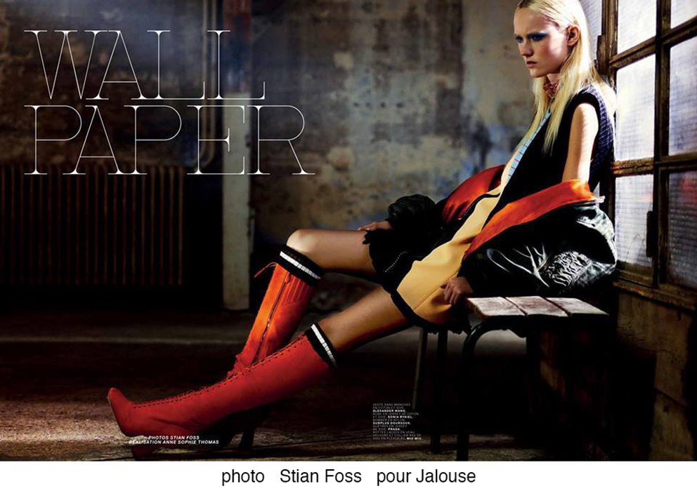 Stian Foss pour Jalouse