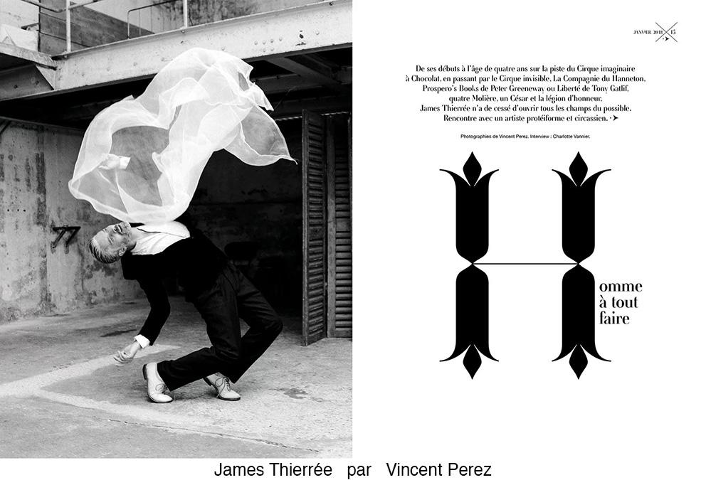 James Thierrée par Vincent Perez