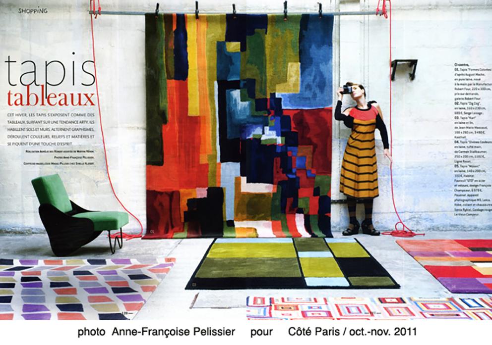 Anne-Françoise Pelissier pour Côté Paris